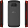 Kép 3/4 - MaxCom MM428BB Mobiltelefon, kártyafüggetlen, Black Red (Fekete - Piros)