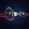 Kép 4/6 - Ugreen vezeték nélküli fülhallgató TWS HiTune Bluetooth 5.0 sztereó fülhallgató fekete (WS100 80606)