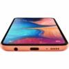 Kép 4/4 - Samsung Galaxy A20E Mobiltelefon, Kártyafüggetlen, Dual Sim, 32GB, Narancs