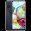 Kép 3/3 - Samsung Galaxy A71 Mobiltelefon, Kártyafüggetlen, Dual Sim, 6GB/128GB, Prism Crush Black (fekete)