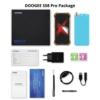 Kép 4/4 - Doogee S58 Pro Mobiltelefon, Kártyafüggetlen, Dual Sim, 6/64GB, Mineral Black (fekete)
