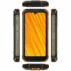 Kép 3/3 - Doogee S59 Pro Mobiltelefon, Kártyafüggetlen, Dual Sim, 4GB/128GB, Fire Orange (narancs)