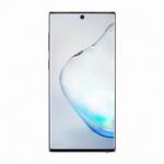 Samsung Galaxy Note 10 Mobiltelefon, Kártyafüggetlen, Dual SIM, 256GB, Fénylő Fekete