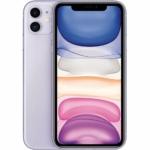 Apple iPhone 11 Mobiltelefon, Kártyafüggetlen, 128GB, Lila
