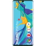 Huawei P30 Pro Mobiltelefon, Kártyafüggetlen, Dual Sim, 8GB/128GB, Aurora Blue (kék)
