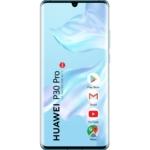 Huawei P30 Pro Mobiltelefon, Kártyafüggetlen, Dual Sim, 8GB/128GB, Breathing Crystal (jégkristály kék)