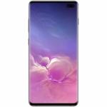 Samsung Galaxy S10+ Használt Mobiltelefon, Kártyafüggetlen, Dual Sim, 8GB/128GB, Prism Black (fekete)