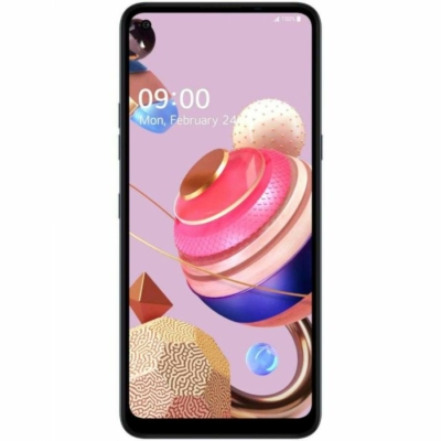 LG K51S Mobiltelefon, kártyafüggetlen, 3GB/64GB, Titan