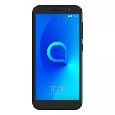 Alcatel 1 5033D 4G Mobiltelefon, kártyafüggetlen, Dual Sim, 1GB/8GB, Volcano black (fekete)