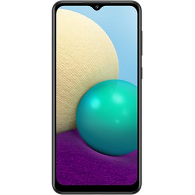 Samsung Galaxy A02  Mobiltelefon, Kártyafüggetlen, Dual Sim, 3GB/32GB, Black (fekete)