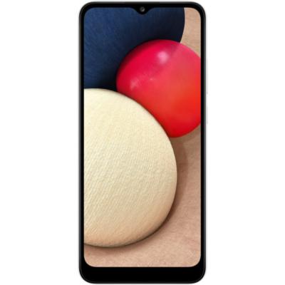 Samsung Galaxy A02S Mobiltelefon, Kártyafüggetlen, Dual Sim, 32GB, Fehér