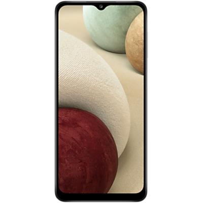 Samsung Galaxy A12 Mobiltelefon, Kártyafüggetlen, Dual Sim, 128GB, Fehér