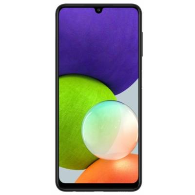 Samsung Galaxy A22 Mobiltelefon, Kártyafüggetlen, Dual Sim, 4GB/64GB, Black (fekete)
