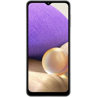 Samsung Galaxy A32 Mobiltelefon, Kártyafüggetlen, Dual SIM, 4GB/128GB, Awesome Black (fekete)