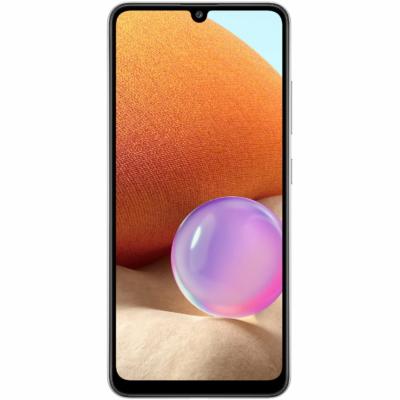 Samsung Galaxy A32 Mobiltelefon, Kártyafüggetlen, Dual SIM, 4GB/128GB, Awesome White (fehér)