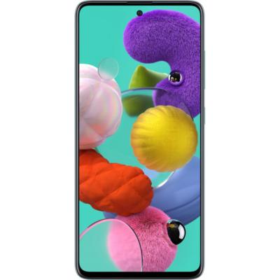Samsung Galaxy A51 Mobiltelefon, Kártyafüggetlen, Dual Sim,128GB, Kék