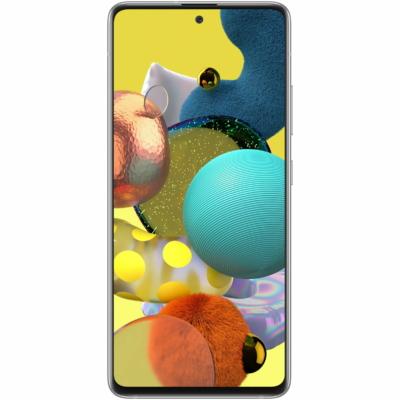 Samsung Galaxy A51 Mobiltelefon, Kártyafüggetlen, Dual Sim,128GB, Fehér