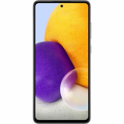 Samsung Galaxy A72 Mobiltelefon, Kártyafüggetlen, Dual Sim, 6GB/128GB, Awesome Black (fekete) - BULK