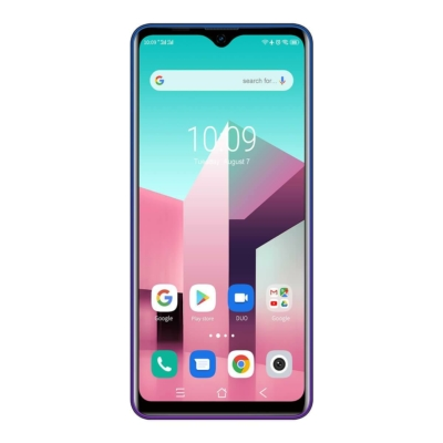 Blackview A80 Plus Mobiltelefon, Kártyafüggetlen, Dual LTE, 4GB/64GB Gradient Blue (kék)