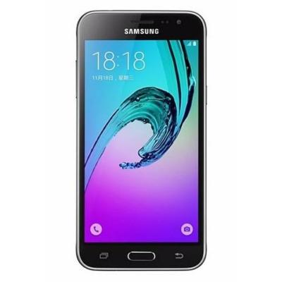 Samsung Galaxy J3 2016 Használt Mobiltelefon, Kártyafüggetlen, Dual Sim, Black (fekete)