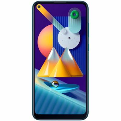 Samsung Galaxy M11 Mobiltelefon, Kártyafüggetlen, Dual Sim, 3GB/32GB, Metallic Blue (kék)