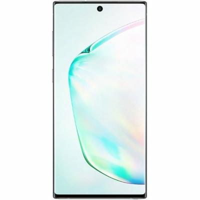 Samsung Galaxy Note 10 Mobiltelefon, Kártyafüggetlen, Dual SIM, 256GB, Fénylő Kék