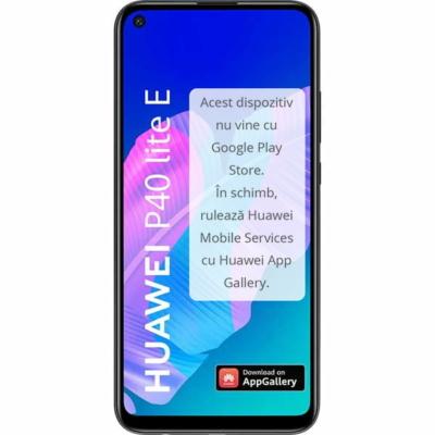 Huawei P40 Lite E Használt Mobiltelefon, Kártyafüggetlen, Dual Sim, 4GB/64GB, Midnight Black (fekete)