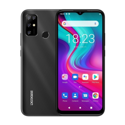 Doogee X96 Pro Mobiltelefon, Kártyafüggetlen, Dual Sim, 4GB/64GB, Midnight Black (fekete)