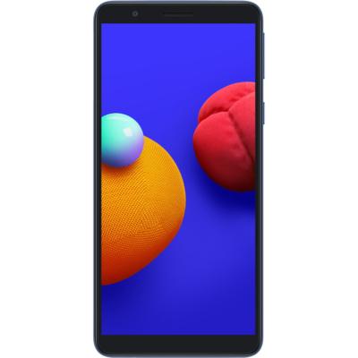 Samsung Galaxy A01 Core Mobiltelefon, Kártyafüggetlen, Dual Sim, 16GB, Kék