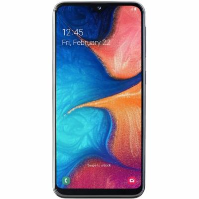 Samsung Galaxy A20E Mobiltelefon, Kártyafüggetlen, Dual Sim, 32GB, Fekete
