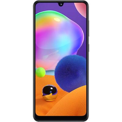 Samsung Galaxy A31 Mobiltelefon, Kártyafüggetlen, Dual Sim, 64GB, Fekete