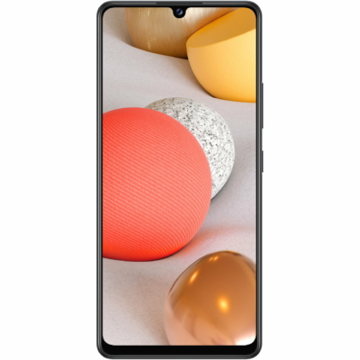Samsung Galaxy A42 5G Mobiltelefon, Kártyafüggetlen, Dual Sim, 4GB/128GB, Prism Dot Black (fekete)