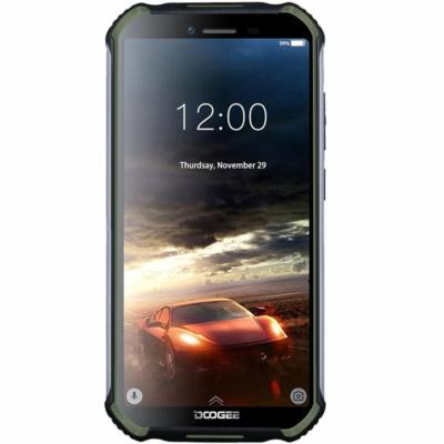 Doogee S40 Pro Mobiltelefon, Kártyafüggetlen, Dual Sim, 4GB/64GB, Army Green (zöld)