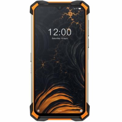 Doogee S88 Plus Mobiltelefon, Kártyafüggetlen, Dual Sim, 8GB/128GB, Fire Orange (narancs)
