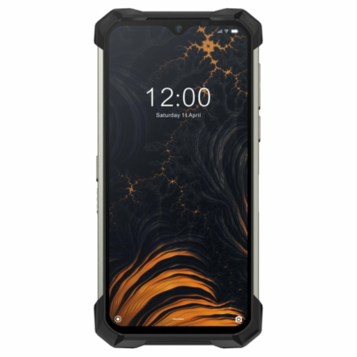 Doogee S88 Pro Mobiltelefon, Kártyafüggetlen, Dual Sim, 6GB/128GB, Mineral Black (fekete)