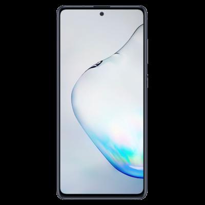 Samsung Galaxy Note 10 Lite Használt Mobiltelefon, Kártyafüggetlen, Dual Sim, 6GB/128GB, Aura Black (fekete)