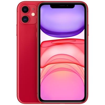 Apple iPhone 11 Mobiltelefon, Kártyafüggetlen, 64GB, Piros