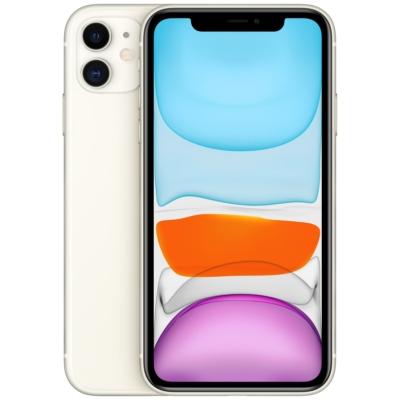 Apple iPhone 11 Mobiltelefon, Kártyafüggetlen, 64GB, Fehér