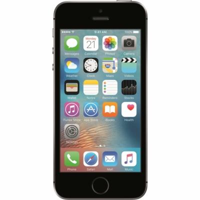 Apple iPhone SE (2016) Használt Mobiltelefon, Kártyafüggetlen, 64GB, Space Gray (szürke)