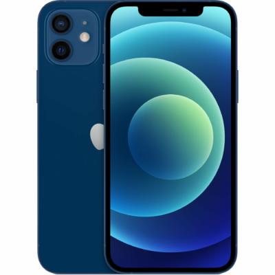 Apple iPhone 12 Mobiltelefon, Kártyafüggetlen, 128GB, Kék