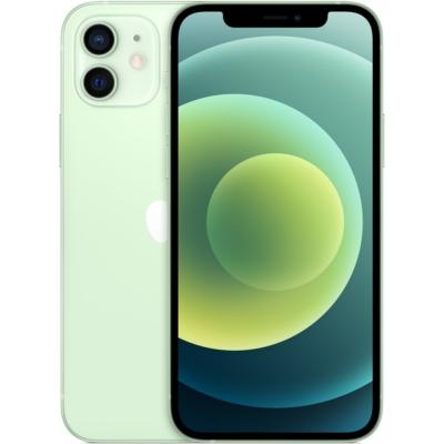 Apple iPhone 12 Mobiltelefon, Kártyafüggetlen, 128GB, Zöld