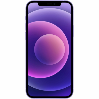 Apple iPhone 12 Mini Használt Mobiltelefon, Kártyafüggetlen, 64GB, Purple (lila)