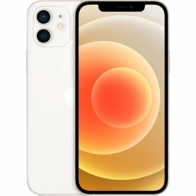 Apple iPhone 12 Mobiltelefon, Kártyafüggetlen, 64GB, Fehér