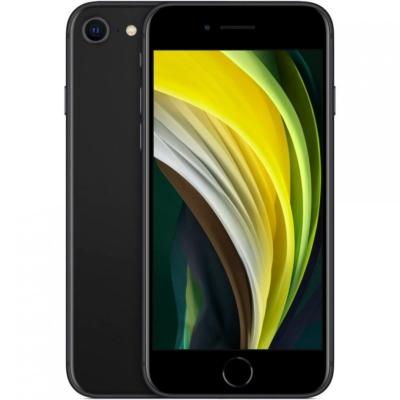 Apple iPhone SE 2020 Mobiltelefon, Kártyafüggetlen, 64GB, Fekete