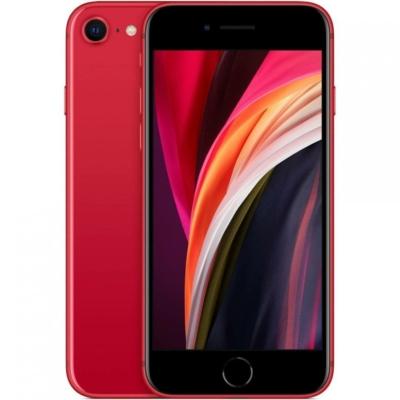 Apple iPhone SE 2020 Mobiltelefon, Kártyafüggetlen, 64GB, Piros