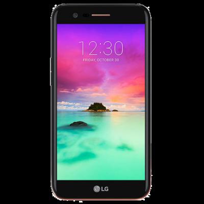 Lg K10 2017 Mobiltelefon, Kártyafüggetlen, Dual Sim, 2GB/16GB, Black (fekete)