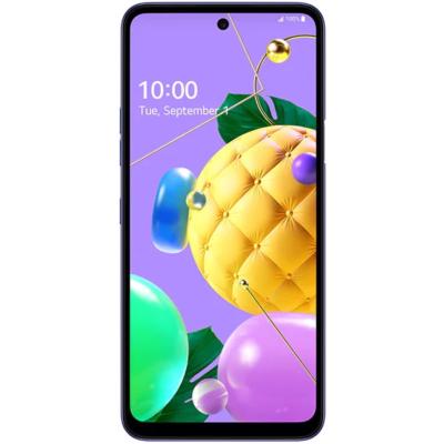 Lg K52 Mobiltelefon, Kártyafüggetlen, Dual Sim, 4GB/64GB, Blue (kék)