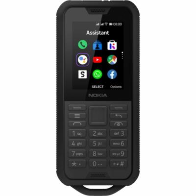 Nokia 800 Tough Mobiltelefon, Kártyafüggetlen, Dual Sim, Black (fekete)