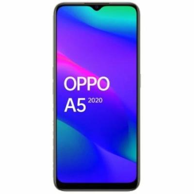 Oppo A5 (2020) Mobiltelefon, Kártyafüggetlen, Dual Sim, 3/64GB, Mirror Black (fekete)