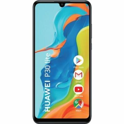 Huawei P30 Lite New Edition Mobiltelefon, Kártyafüggetlen, Dual Sim, 256GB, Éjfekete